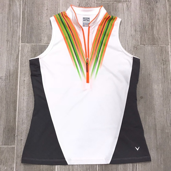 23866fe07fcb2 Callaway Tops - Callaway Women s Sleeveless Opti-Dry Golf Shirt